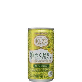 IKEZO Tsuyameku Jelly Sparkling Yuzu
