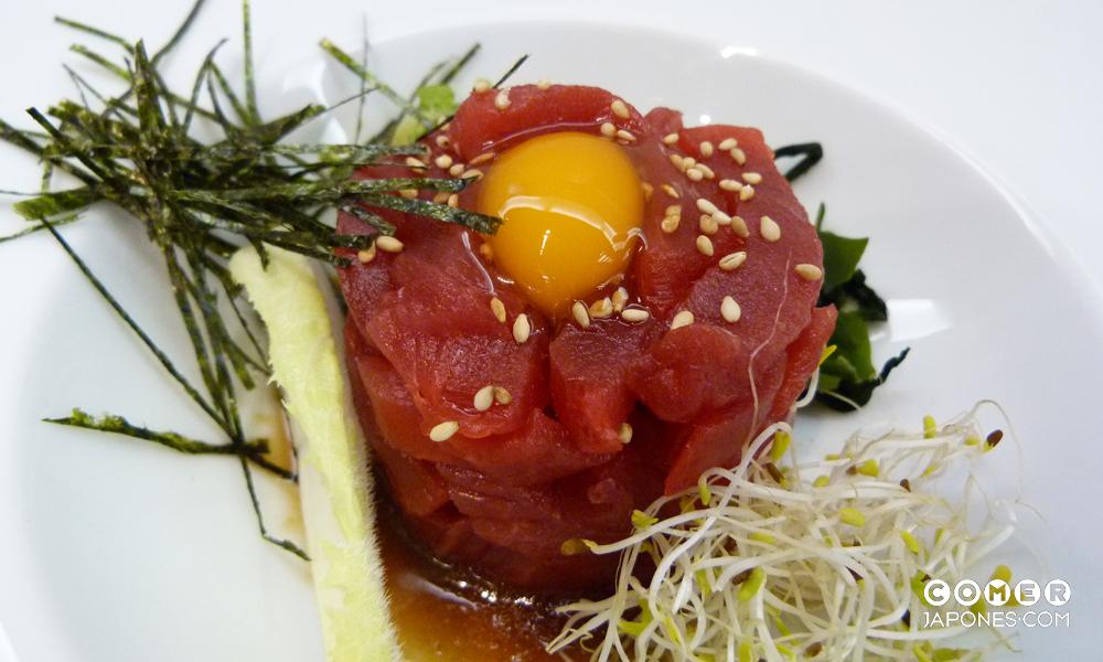 Maguro tartar (tartar de atún rojo)