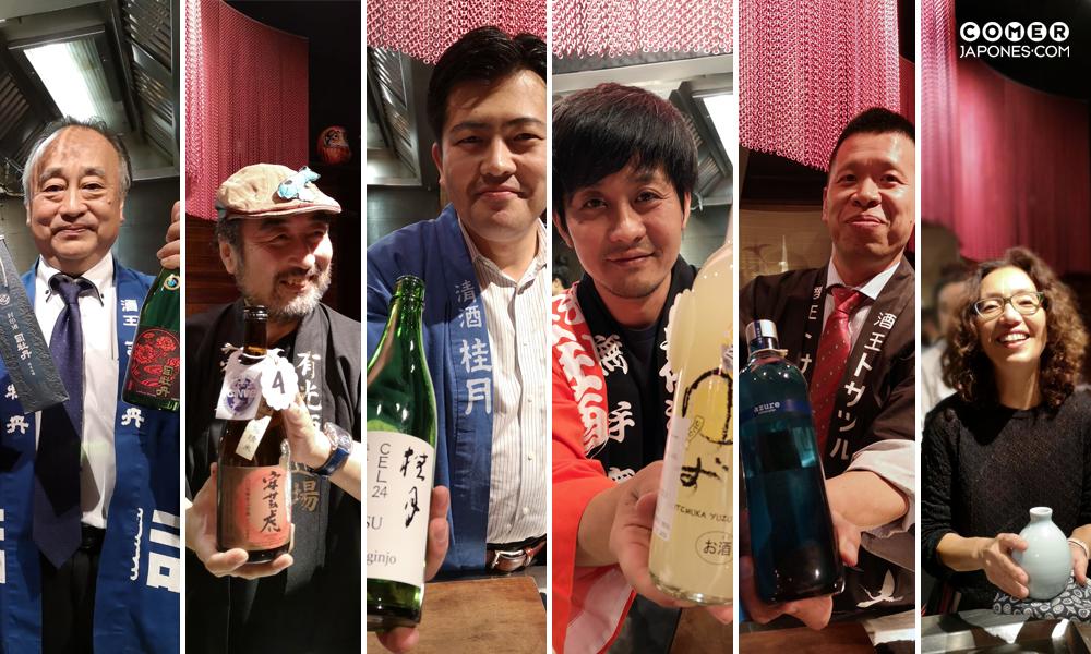 Bodegueros de sake de Kochi