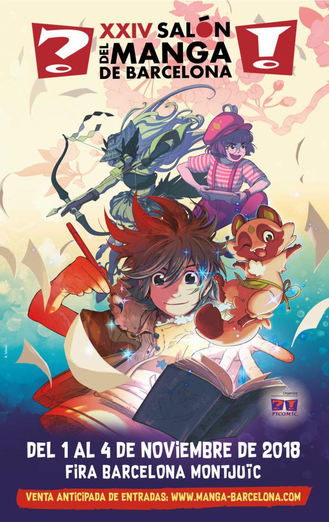 XXIV Salón del manga de Barcelona 2018