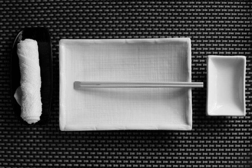 Etiqueta en la mesa japonesa