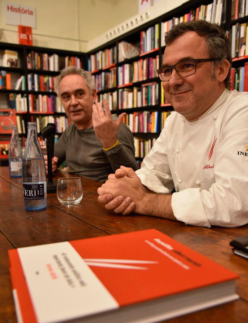 Ferran Adrià y Albert Raurich