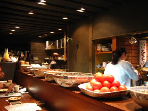 Restaurante Gion Manzara de Kyôto. Gracias por la recomendación, Rika ;-)