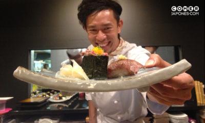 Chef Hayato Morita Ohmi wagyu sushi Yashima barcelona