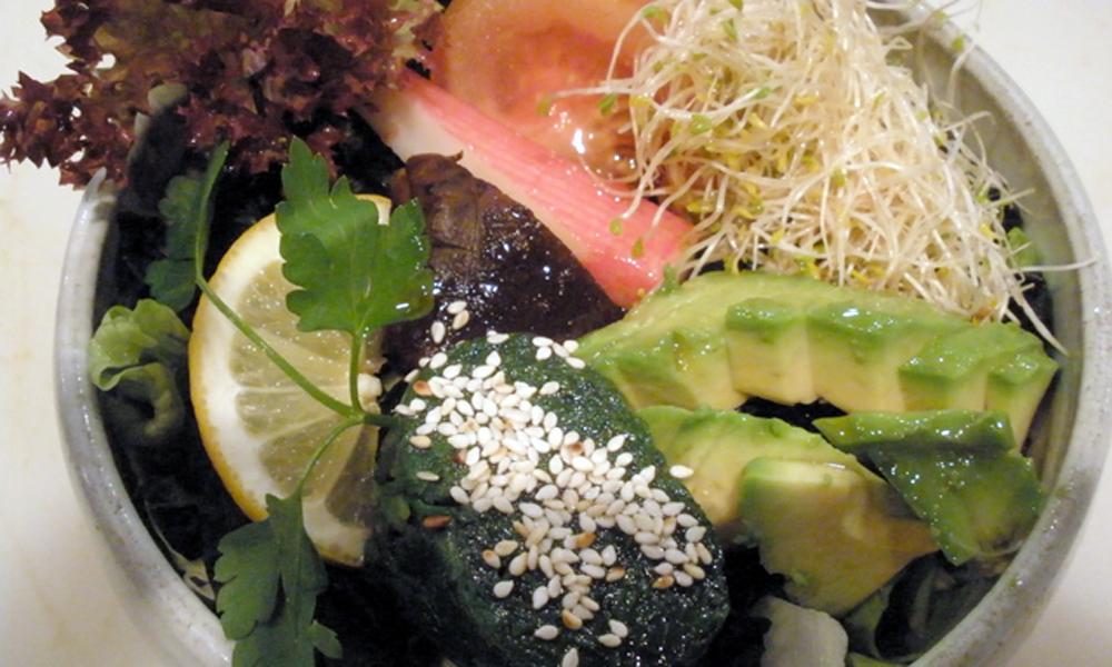 horenso sarada - ensalada de espinacas