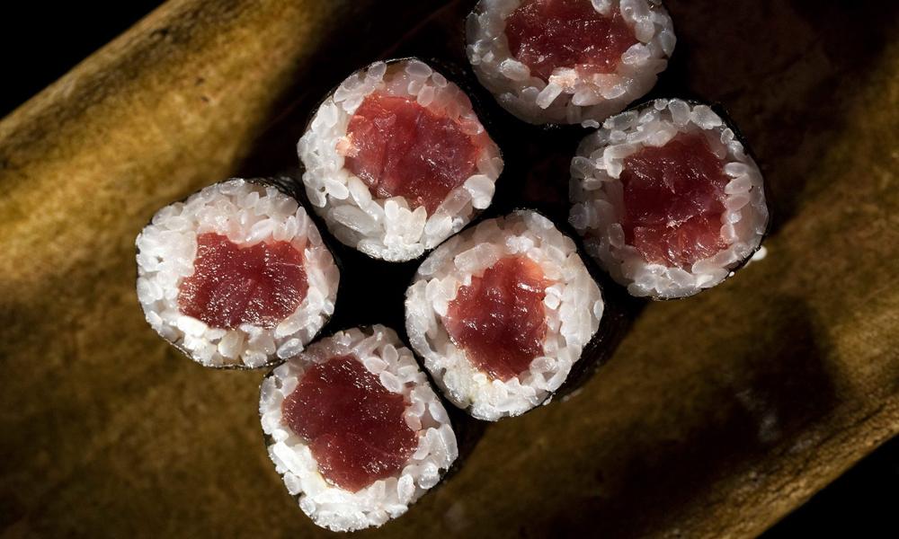 Hosomaki de atún rojo de Sakura-Ya
