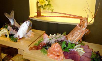 Ikizukuri corte de pescado vivo