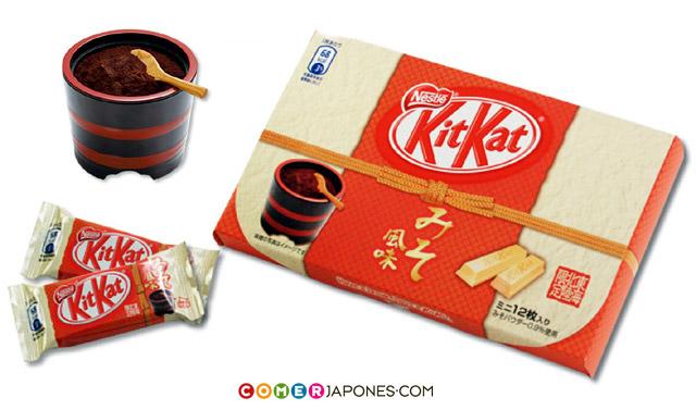 El KIT KAT con sabor a salsa de soja es un souvenir de Tokyo