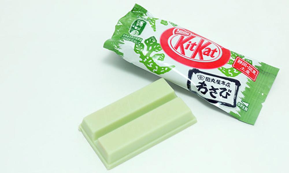 Kit Kat Wasabi ©Kotaku