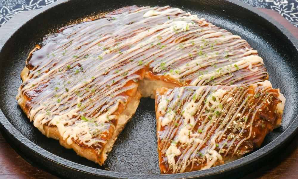 Okonomiyaki del restaurante Kote