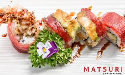 Cena Salvaje Matsuri Sushi Bar Barcelona
