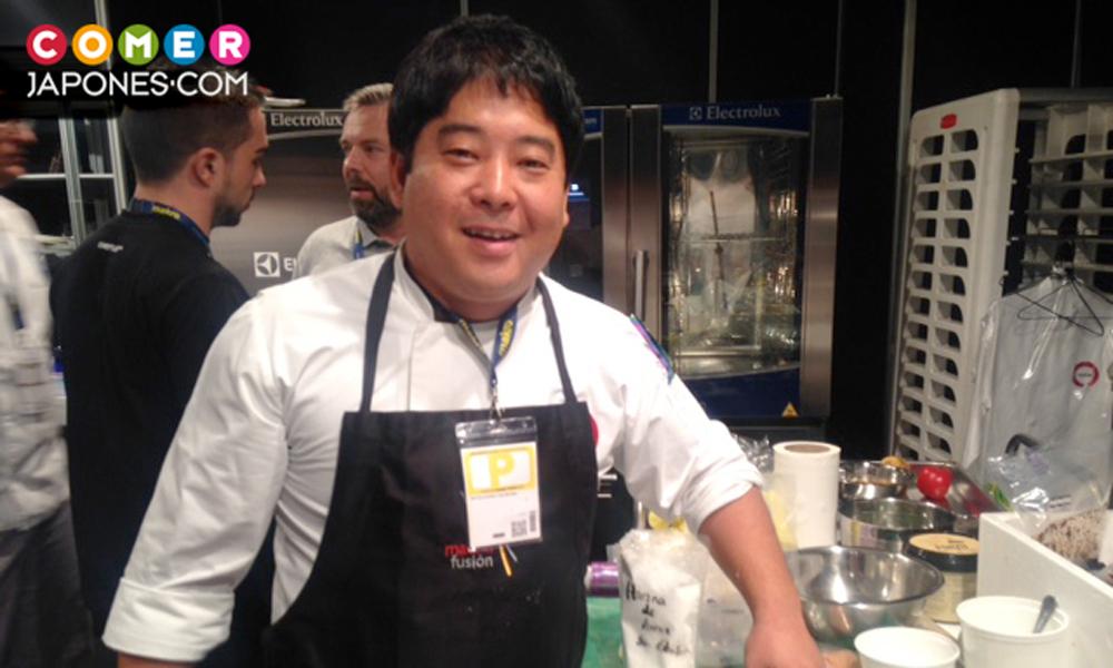 Mitsuharu Tsumura chef del restaurante Maido