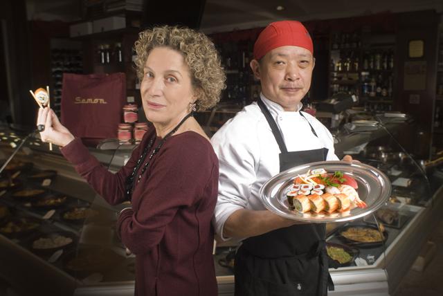 Montse Tarrida y el maestro Tang en Semon Japan