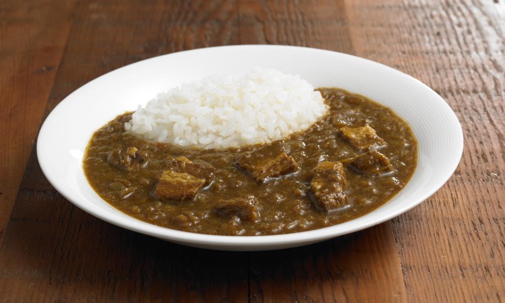 Curry de cerdo y jengibre