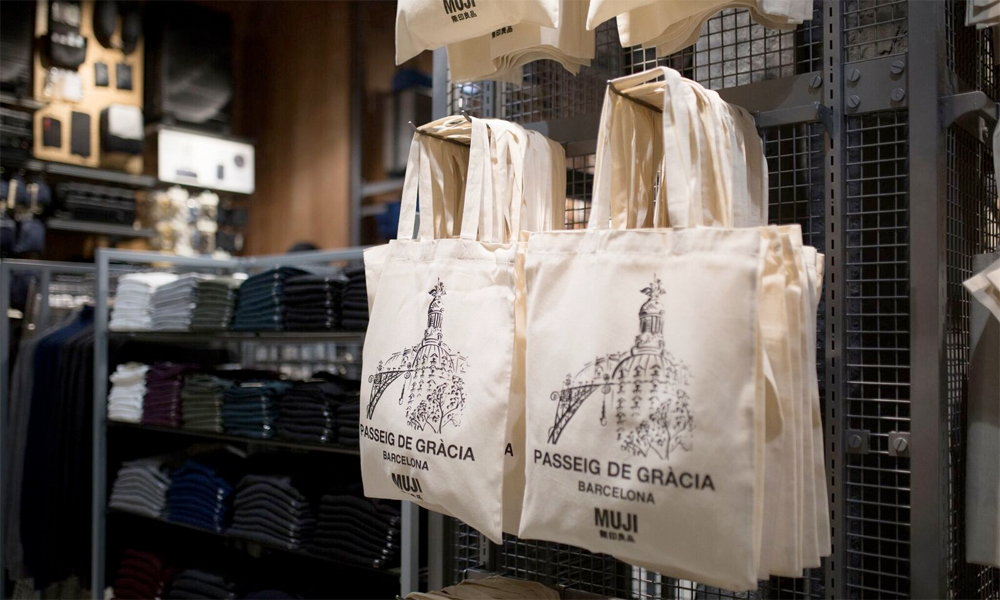 MUJI inaugura su  flagship store  europea en Barcelona ... 2144c7eed04
