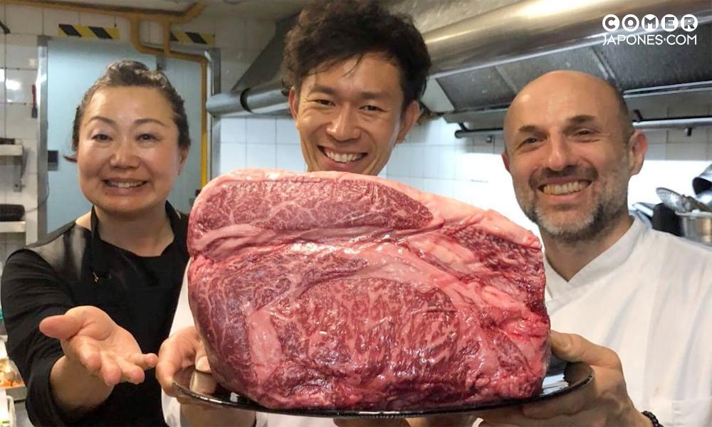Wagyu de Ohmi con Hayato Morita en Yashima