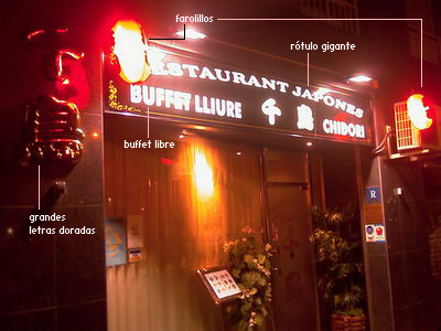 Peachy El Peor Restaurante Japones De Barcelona Comerjapones Com Interior Design Ideas Inamawefileorg