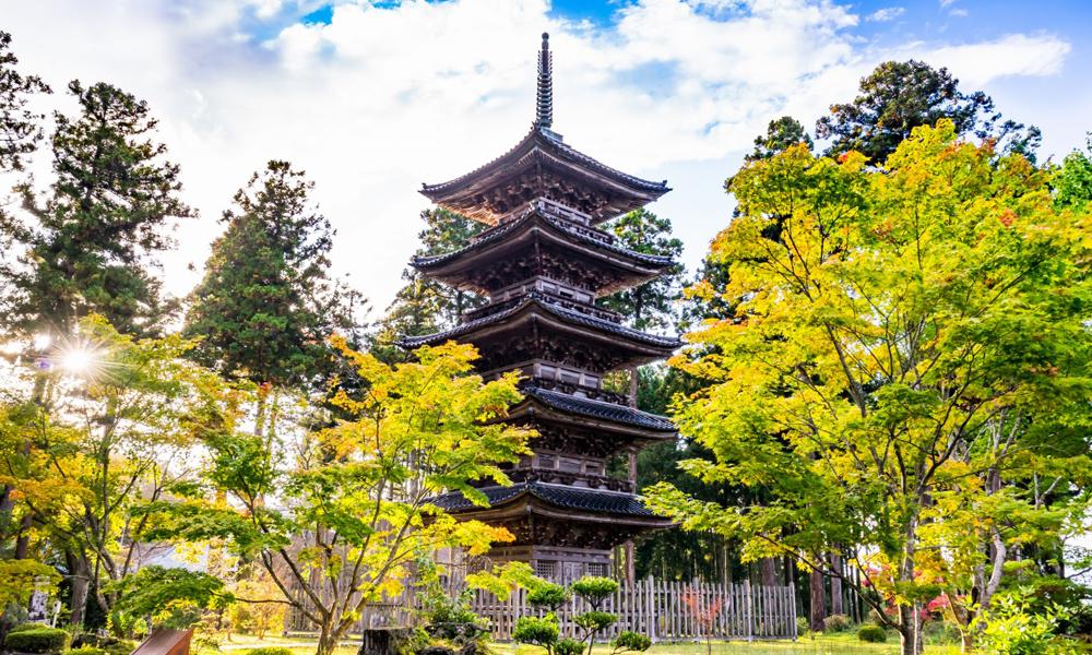 Pagoda en Sado