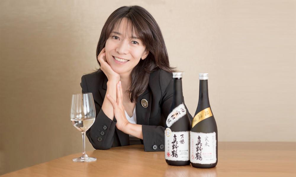 Rumiko Obata, vicepresidenta de Obata Sake