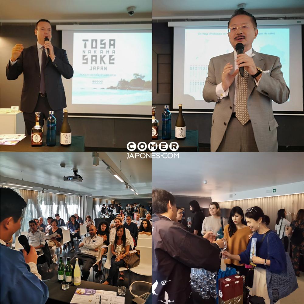 Evento Tosa Sake