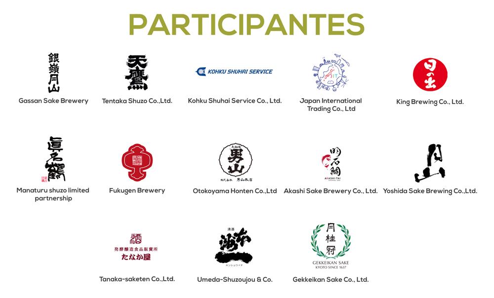 El mundo del sake - Participantes - Profesionales