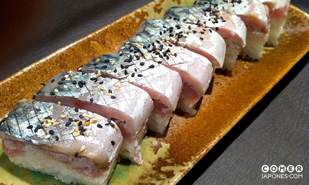 shimesaba oshizushi