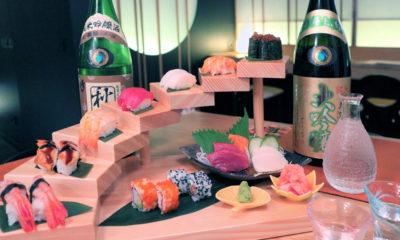 Sushi y sake by Shuwa Shuwa
