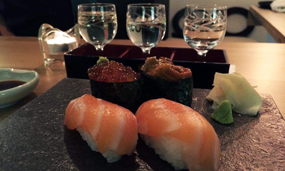 Shuwa Shuwa sake y sushi