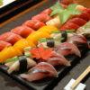 Sushi moriawase en Matsu