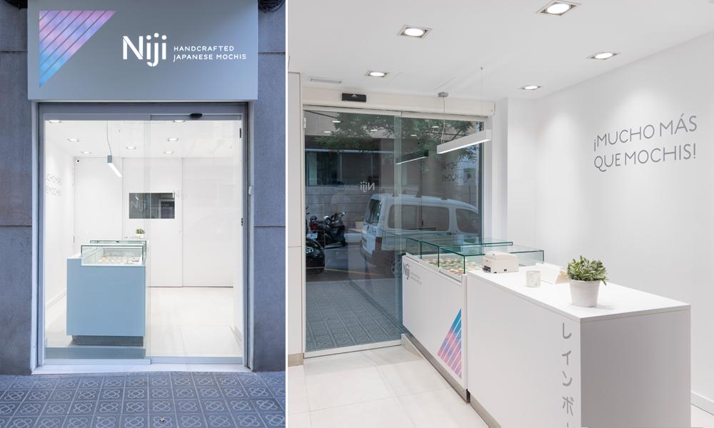 Nueva tienda de mochis Niji en Barcelona