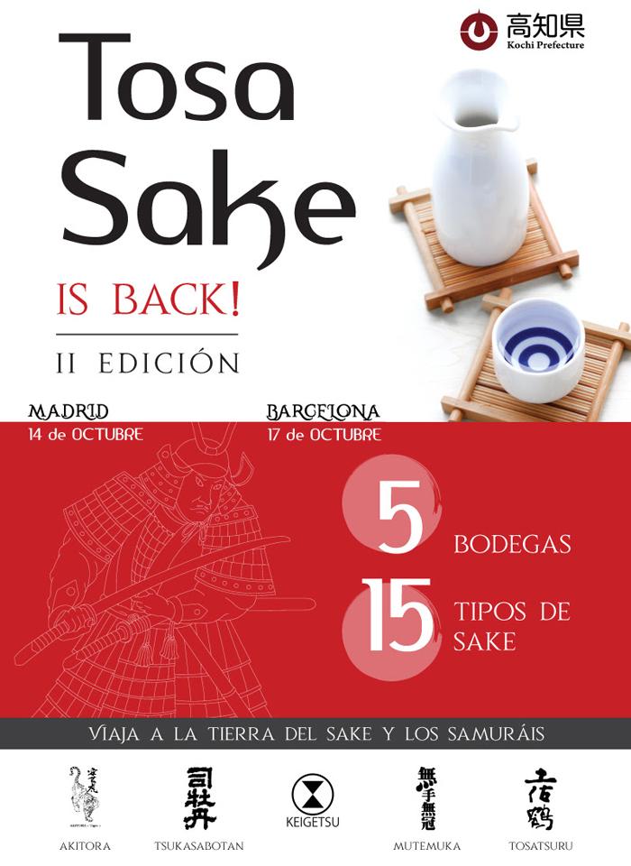 Tosa Sake 2ª edición