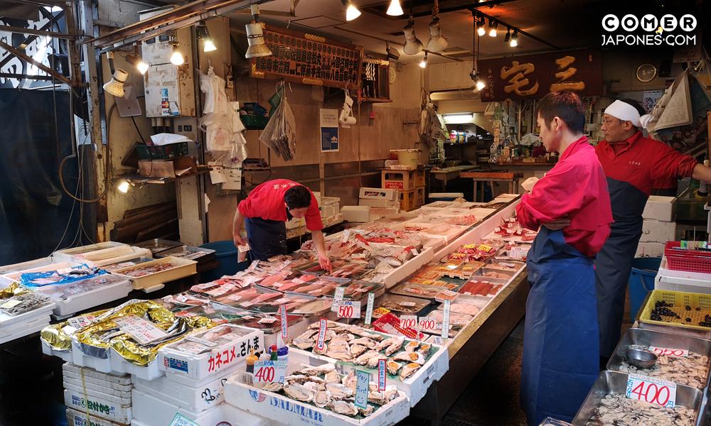 Viaje gastronómico a Japón: Mercado de Tsukiji
