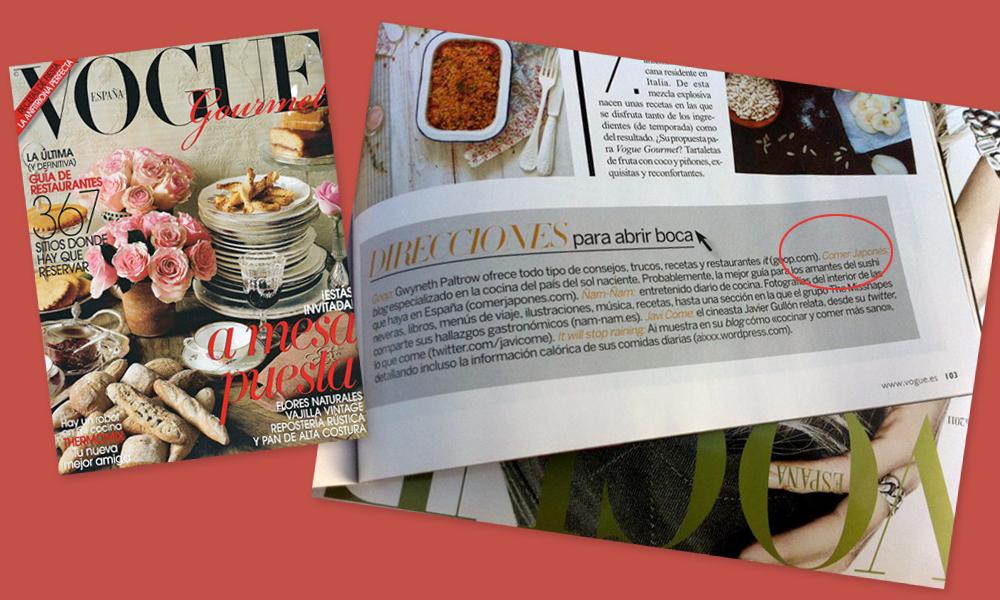 Vogue Gourmet #02 - ComerJapones
