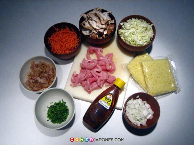 Receta Cómo Preparar Unos Yakisoba Comerjaponescom